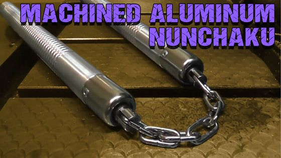 Whats so special about the Machined Aluminum Nunchaku?
