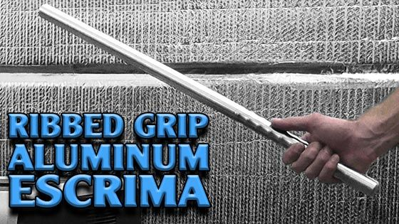 Why Choose a Ribbed Grip Aluminum Escrima?