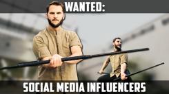 Get Free Stuff! Social Media Influencers Wanted!
