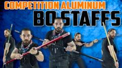 New Lightweight Aluminum Competition Bo Staffs