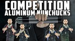 New Lightweight Metal Nunchucks for Competitions and Demonstrations
