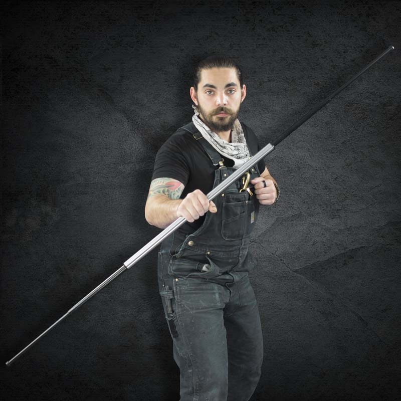 Steel Expandable Bo Staff