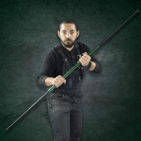 Green Expandable Bo Staff