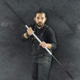 Silver Expandable Bo Staff