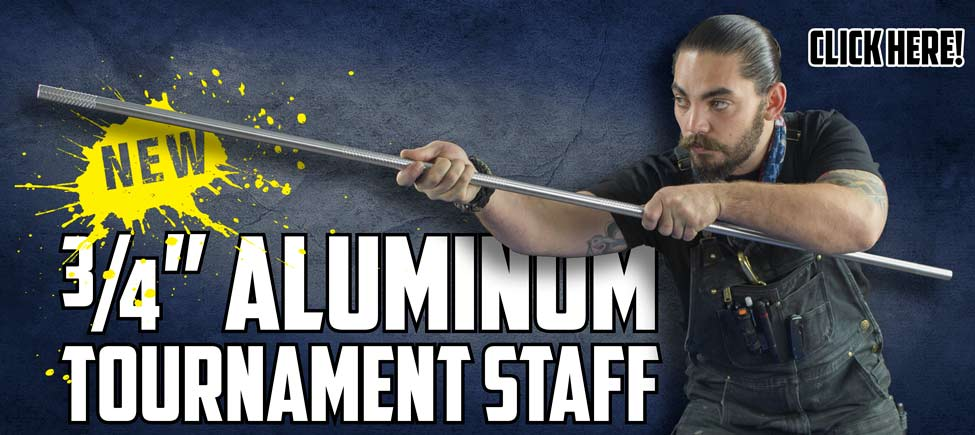 The 3/4-Inch Aluminum Tournament Staff